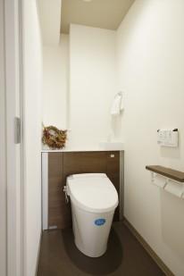 リノベーションマンション トイレ施工後